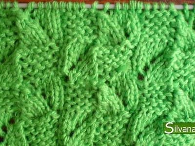 Punto fantasía DERECHO y REVÉS. Tejido con dos agujas # 97 Patterns knitting