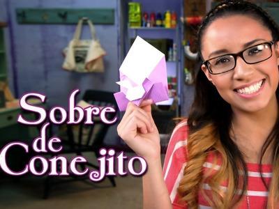 Sobre de Conejito: Papel & Pascua - Crafting Studio