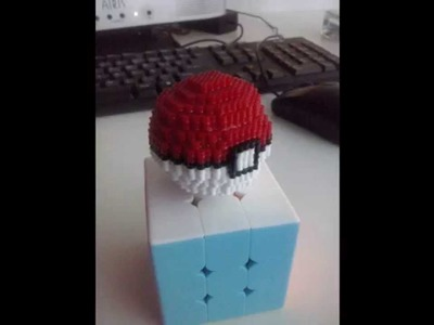 Tutorial #1 | Pokeball hamma beads 3d