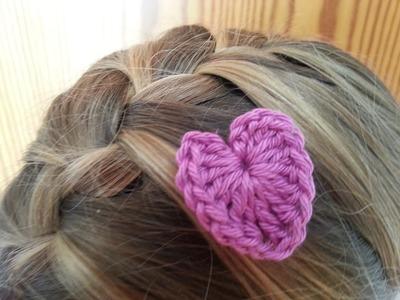 Tutorial corazon basico 2 crochet.ganchillo