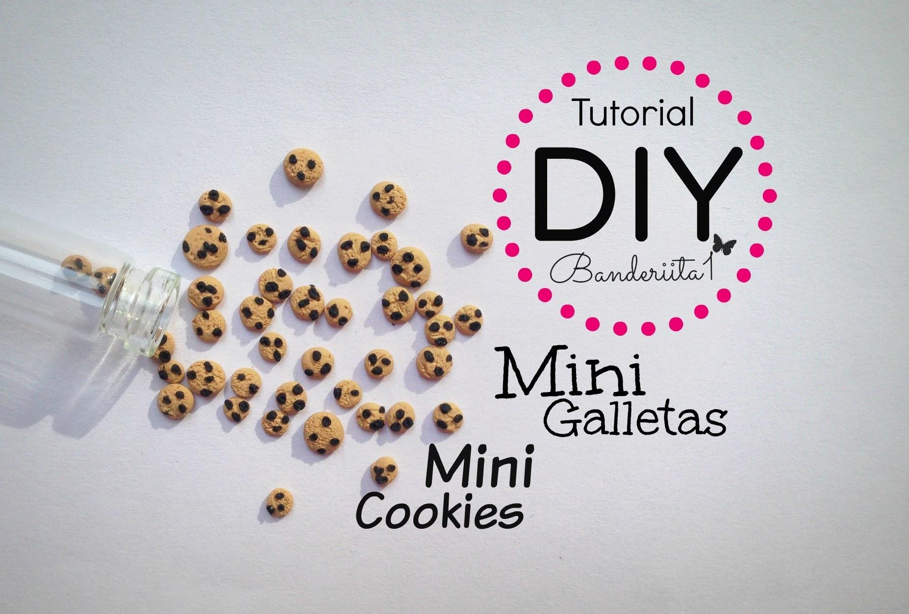 Tutorial DIY Mini Galletas arcilla polimerica. Polymer Clay Cookies