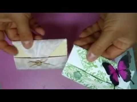 Tutorial: Monedero de papel (origami)