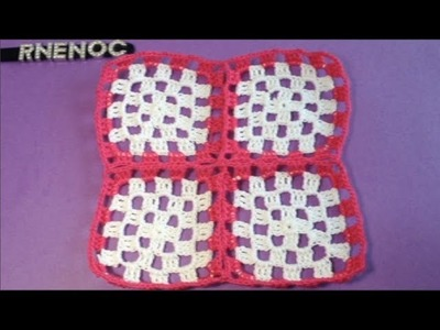 #UNION DE #CUADROS EN LA ULTIMA VUELTA #GANCHILLO #CROCHET