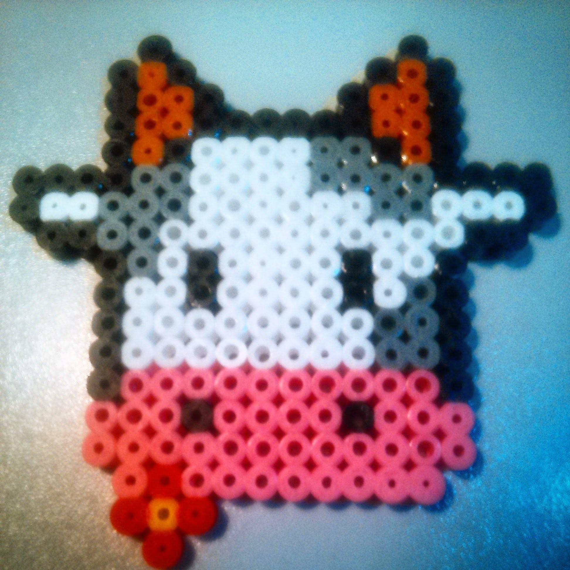 Vaquita de Hama Beads