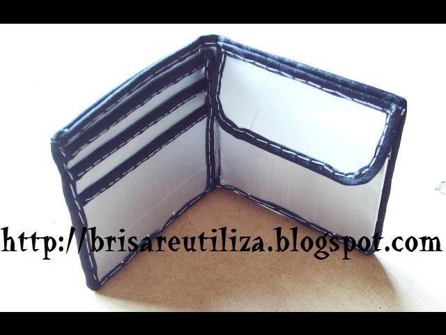 27. DIY CARTERA-BILLETERA (RECICLAJE DE TETRABRICK)
