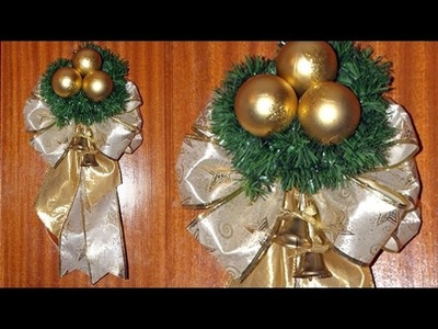 Adorno Navideño para la Puerta de Casa - DIY - Christmas Decoration to the Door