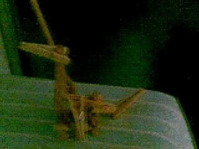 Arjonilla (Ciegos Nocturnos) - Hacer un dragon con pinzas de madera