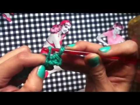 Básicos crochet: Punto bajo.single crochet