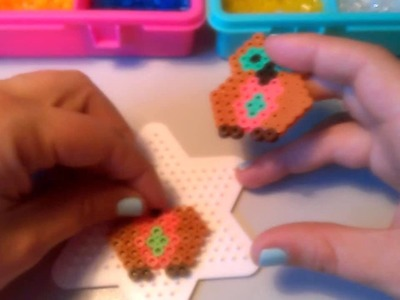 Búho de Hama Beads  HD By Rainbowman