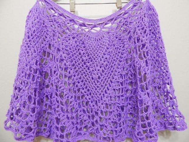 Capa Cuatro Piñas Crochet 1 de 2