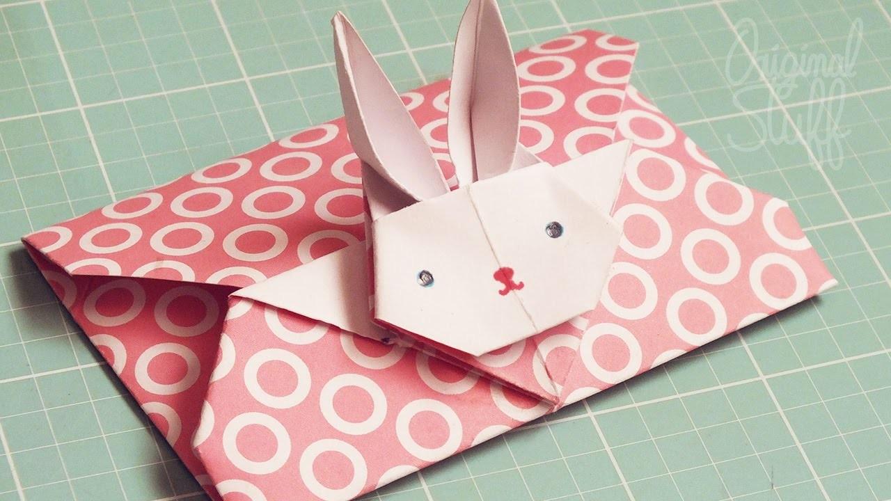 Carta de Conejito :3 [Origami] - Original Stuff