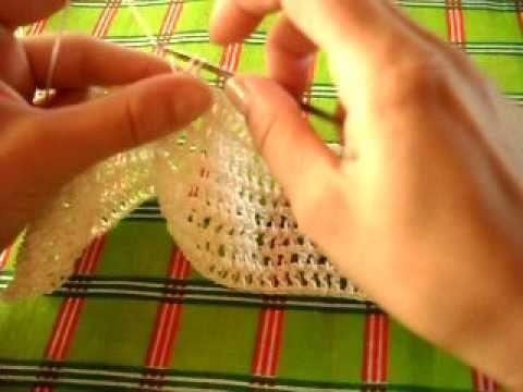 Chaleco crochet 1 parte