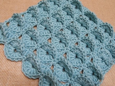 Cobija Manta para Bebe Crochet