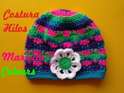 Cómo Coser los Hilos de manera Invisible  en Tejidos Crochet o Dos agujas por Maricita Colours