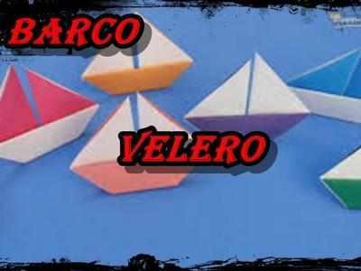 Como Hacer Barco Velero-Origami