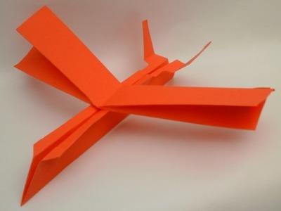Como hacer un avión de papel. Nave de alas en V