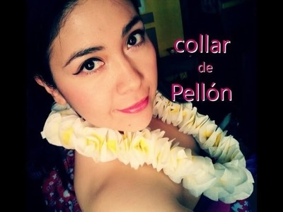Cómo hacer un collar de flores de pellón (DIY)| Charliesipi