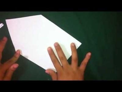 Cómo hacer un títere de origami - Figuras de papiroflexia