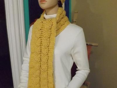 Como Hacer Una Bufanda De Trenzas A Crochet