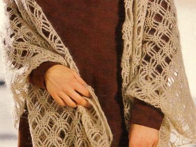Como tejer Estola a crochet