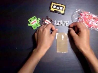 Como usar hamma beads sin plantilla