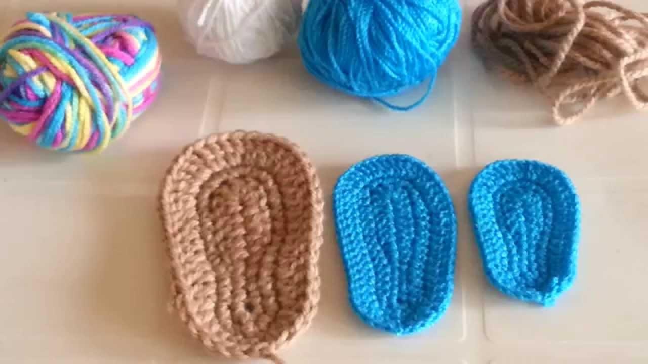 Consejos para tejer suelas o plantillas a crochet