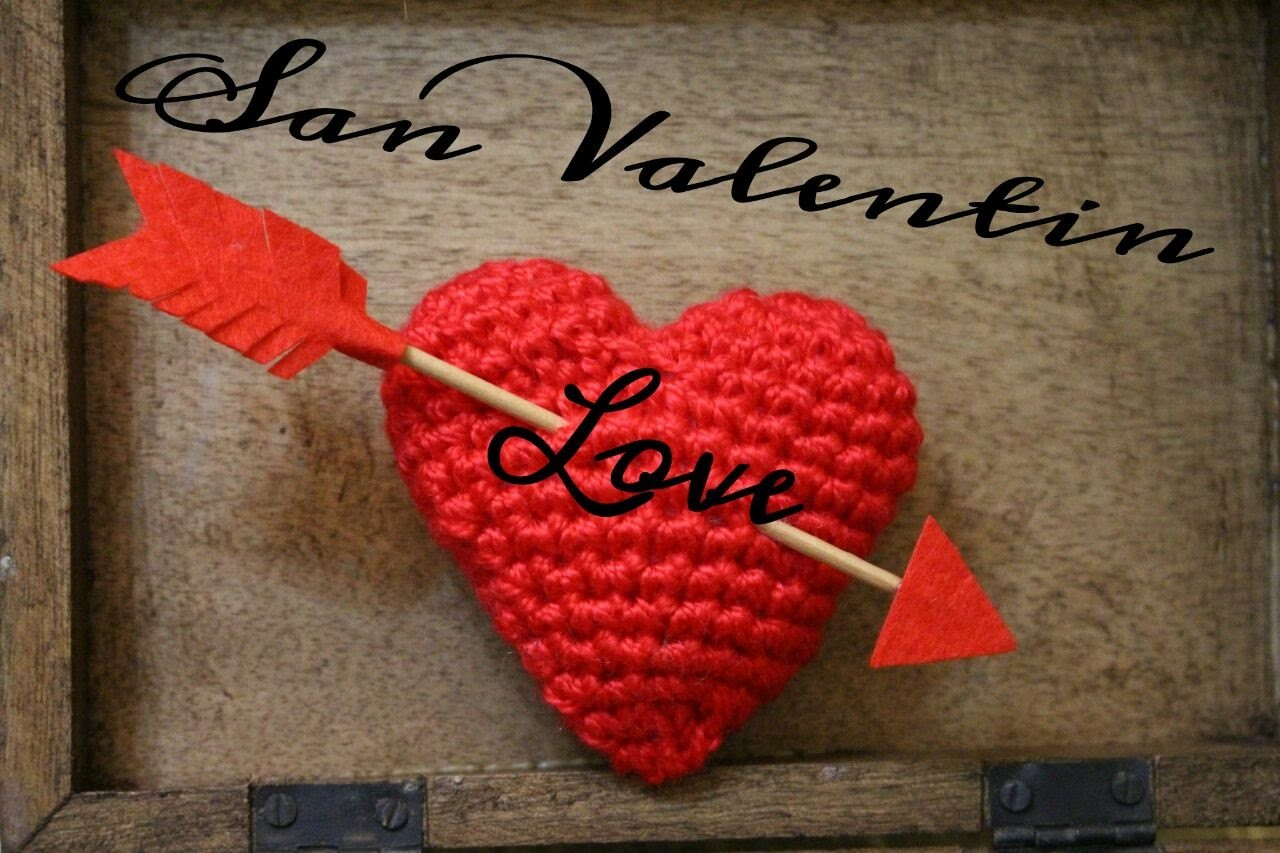 Corazón a Crochet & San Valentín ¡ DIY !