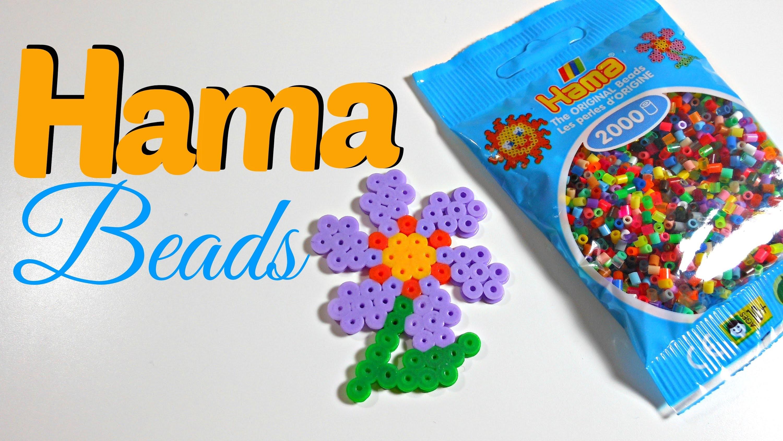 Creando con Hama Beads | Flor básica | Mundo@Party