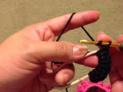 Crochet accesorios para cabello.