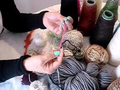 Crochet básico - Parte I (hilos, lanas y agujas)