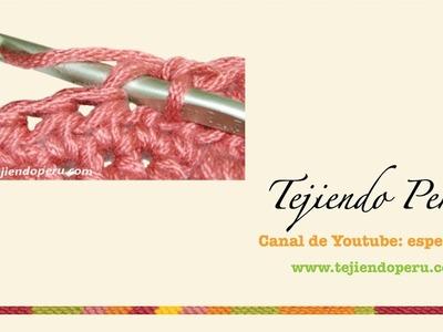 Crochet: cómo tejer tomando el bucle de adelante de la cadeneta