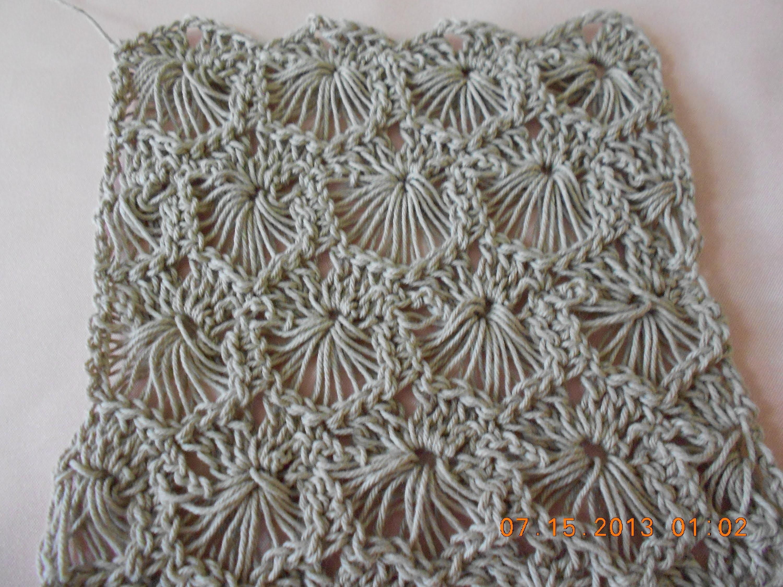 Crochet Tejido Circulos Reversibles