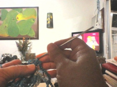Cuadros tejidos en crochet union