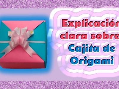 DIY | Cajita de origami | Explicación clara