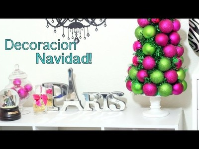 DIY MakeupRoom Decor Navidad