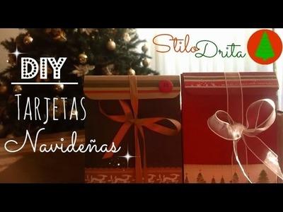 ☆☆☆ DIY: Tarjetas Navideñas - Faciles y Lindas ☆☆☆ [Ver en HD]