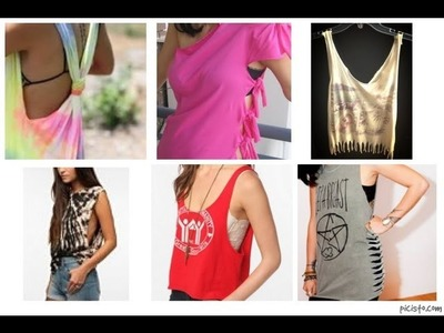 DIY - Transforma tus blusas