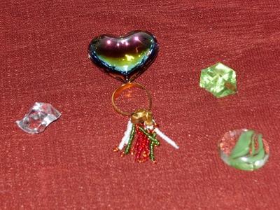 DIY Tutorial de anillo con colgantes tricolor para este 16 de septiembre