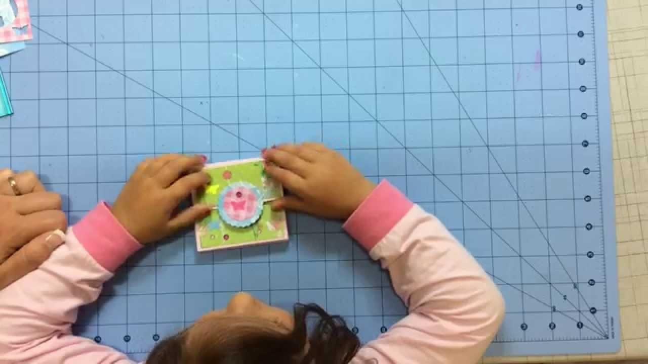 DIY tutorial regalo profesor. Scrapeando con Noa