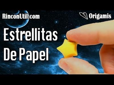 Estrellas de papel | Estrellas Origami 3D facil