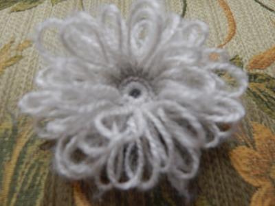 Flor # 6 Crochet de Lazos