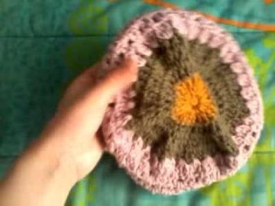 Gorro crochet colores