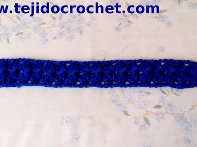 Guarda o galon en tejido crochet tutorial paso a paso.