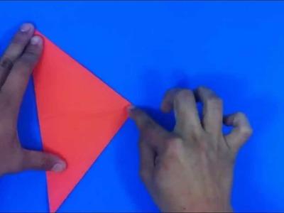 Hacer un zorro de origami - Formas y figuras de papel