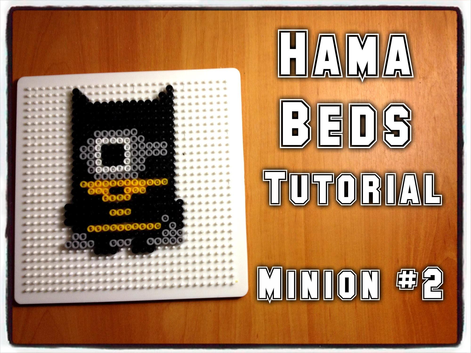 Hama Beads Tutorial | Minion #2