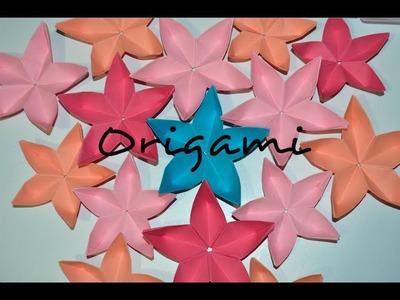 Haz flores de cerezo en Origami ♥