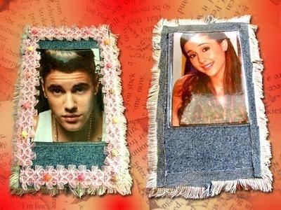 Justin Bieber y Ariana Grande DIY Tutorial portalápices