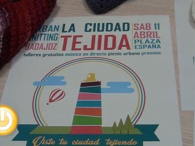 'La Ciudad Tejida', una nueva acción de Urban Knitting llega a Badajoz