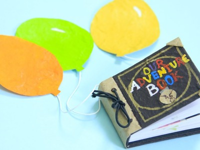 Libro de aventuras UP - mini libro scrapbook