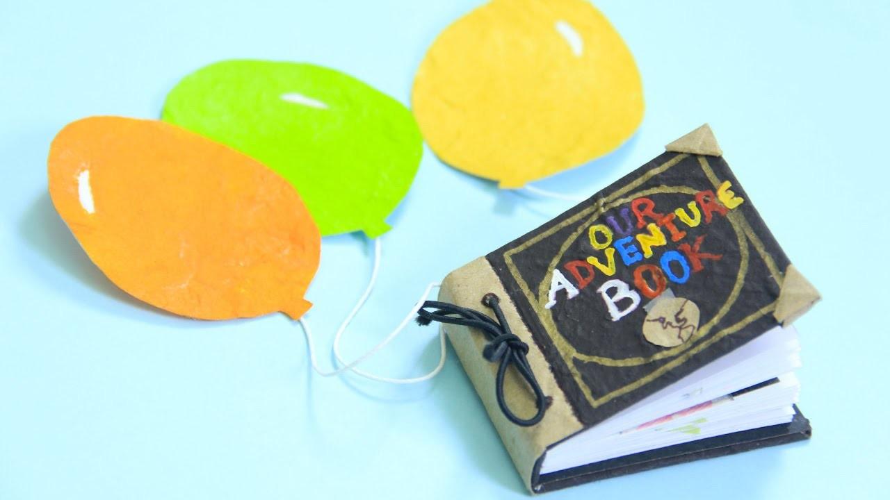 Libro de aventuras UP - mini libro scrapbook